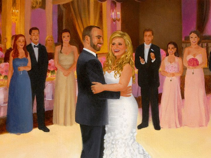 Tmx 1418443010107 Christie  Joe Event Painting Cr Morristown, NJ wedding favor