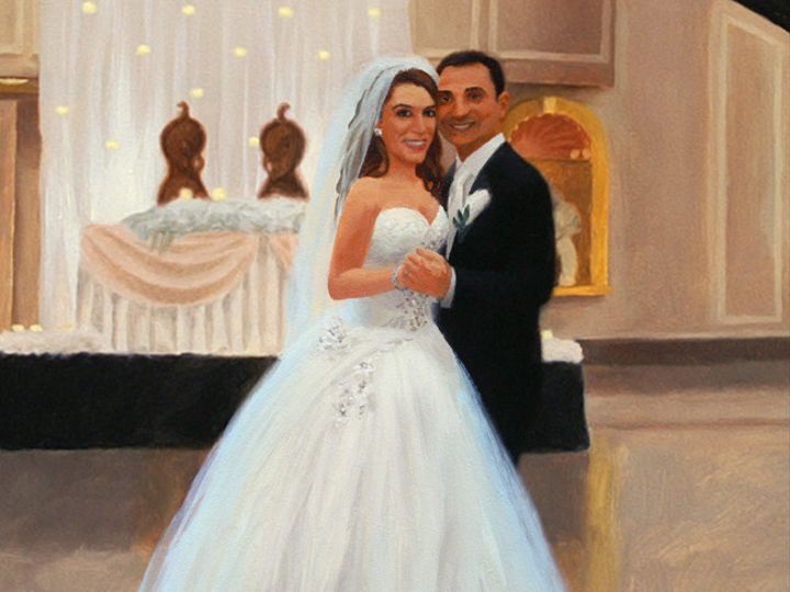 Tmx 1418443014775 Live Event Painting Filomena  Joseph Cr Morristown, NJ wedding favor