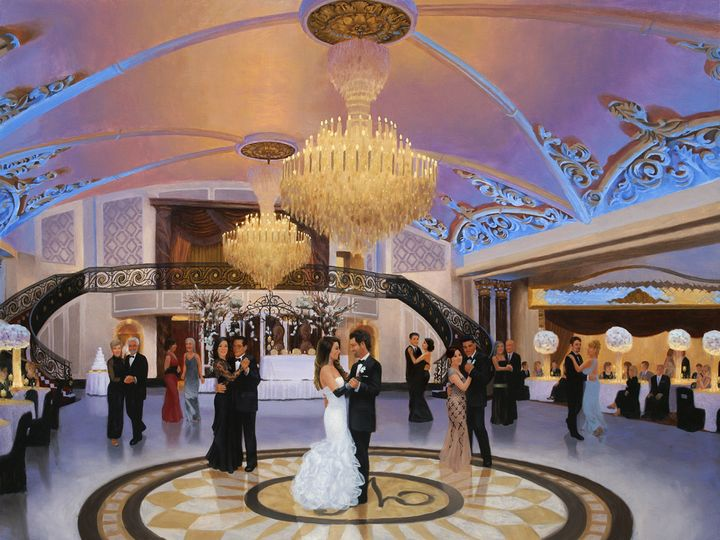 Tmx 1422318362025 Live Event Painitng Of Theresa  Michael 13 Morristown, NJ wedding favor