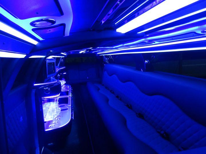 12 passenger Chrysler limo