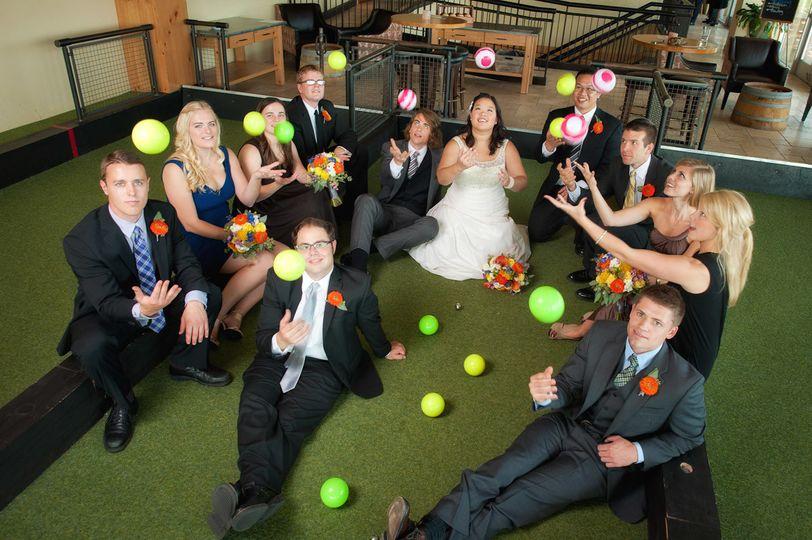 wedding bocce