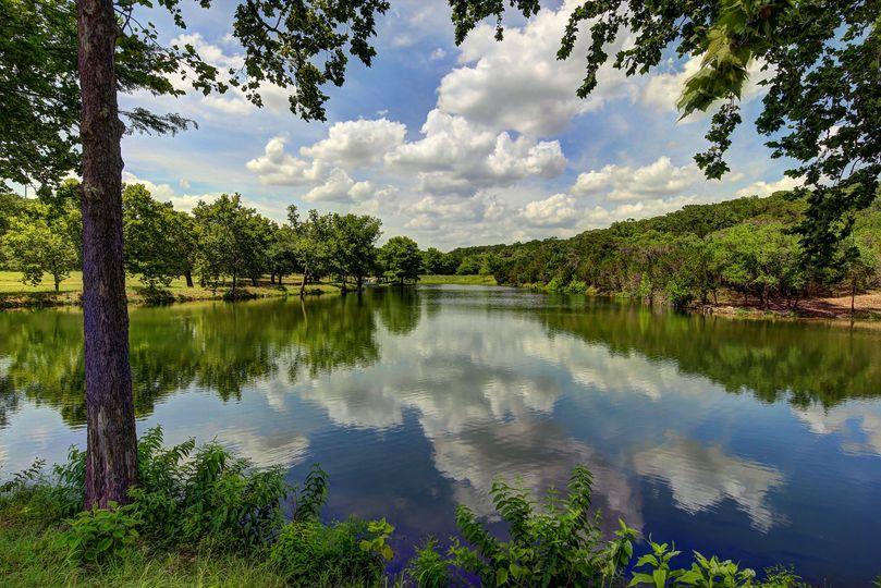 Spring-fed lake