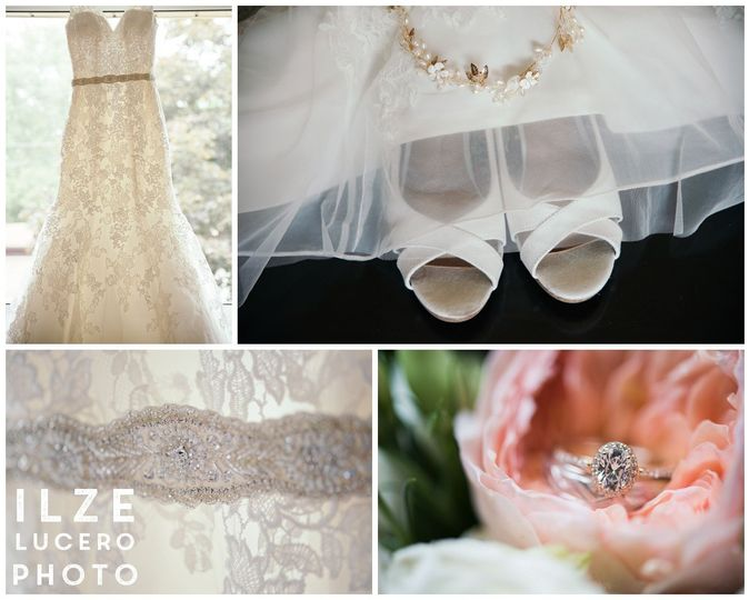Ilze Lucero Photography bridal detrails