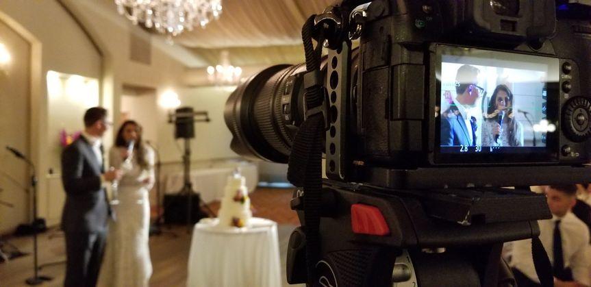 Wedding Reception BTS