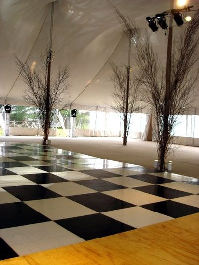 Parquet Dance Floors are available in Black, White, Checkered or Parquet, to suit any style and...