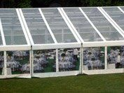 These monster Structures are available in White and Clear-Top 66' and 82' wide by infinite length.