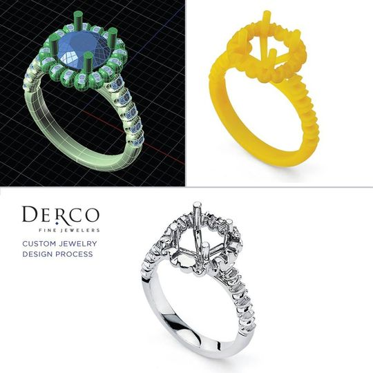 One of the important aspect of jewelry is the process of design and engineering!