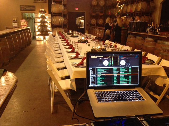 Temecula Winery Christmas Event