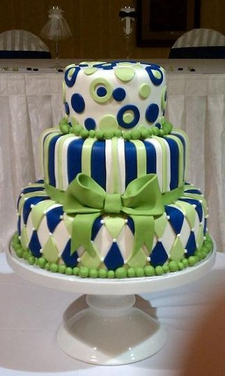 800x800 1326160998521 royalbluegreenwimsyweddingcakers11
