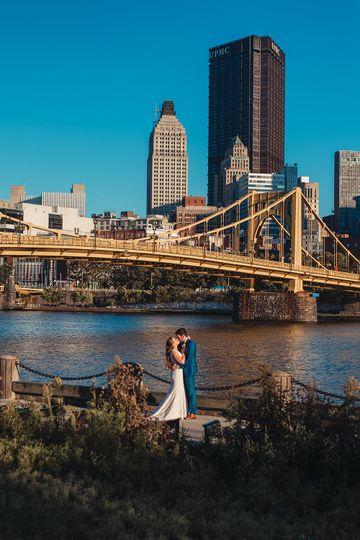 Downtown Pittsburgh Wedding