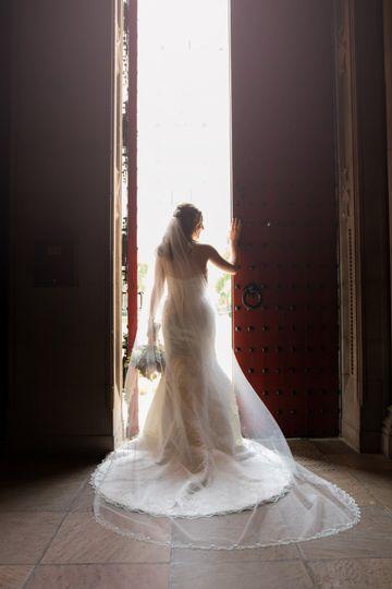 Bride at Heinz Memorial Chapel
