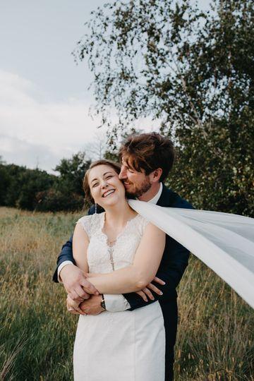 Intimate minnesota wedding
