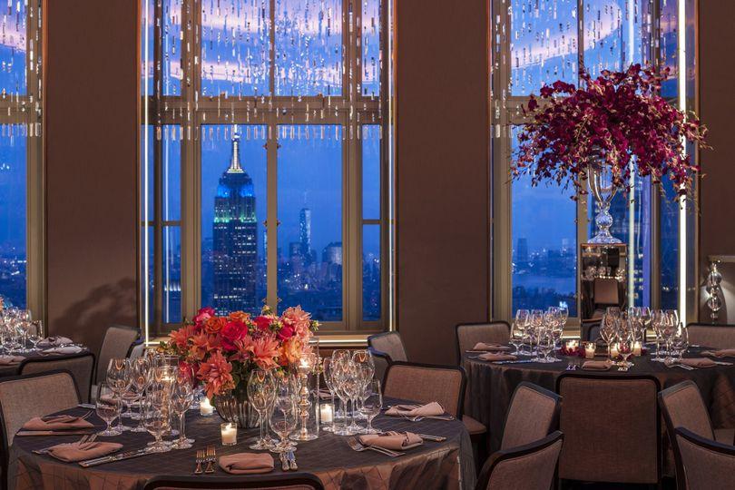 Rainbow room venue new york ny weddingwire for 10 rockefeller plaza 4th floor new york ny 10020