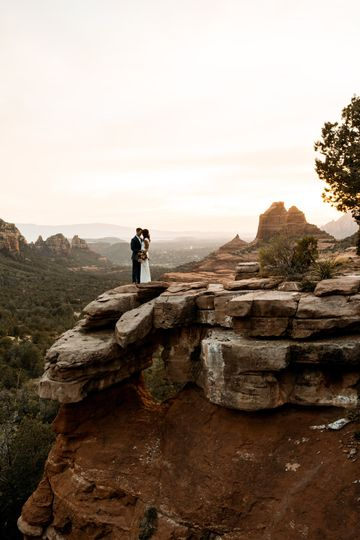 › Epic Elopement in Sedona ‹