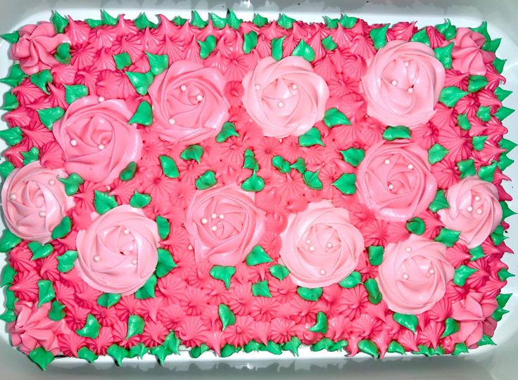 Pink me chocolate cake