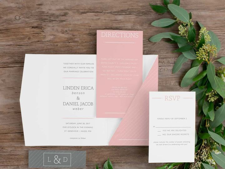Tmx 1458852654 E6c4149b83018124 27797 Instagram2 Minneapolis, Minnesota wedding invitation