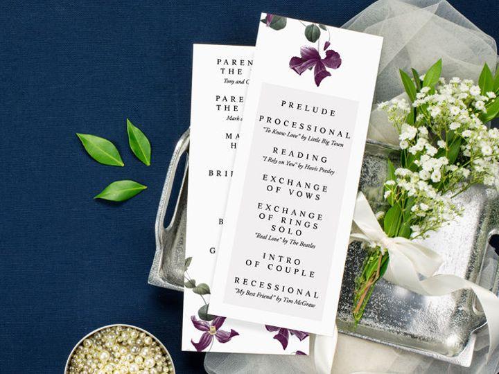 Tmx 1520610216 7c5e00217e135897 1520610214 69b796f5b1c25259 1520610208055 15 Programs 1 Minneapolis, Minnesota wedding invitation