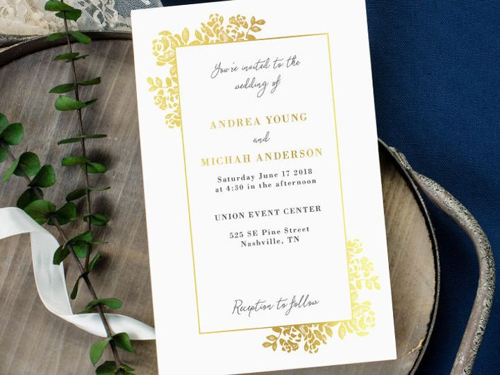 Tmx 1520610252 2870629c588968f2 1520610210 B4dffa808ee5d055 1520610208009 2 Invitations 2 Minneapolis, Minnesota wedding invitation