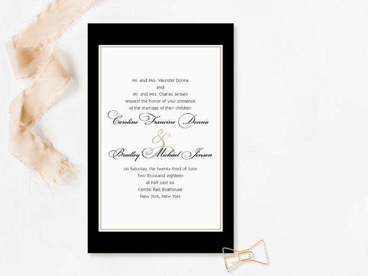 Tmx 1520610261 E8d7a6eb90255dd0 1520610213 3a207180e7e2846f 1520610208041 11 Invitations 11 Minneapolis, Minnesota wedding invitation