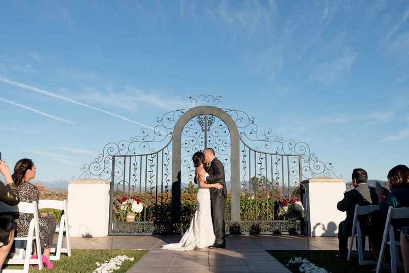 Beautiful Wedding at Villa de Amore in the Temecula Valley  less than an hour's drive from San Diego