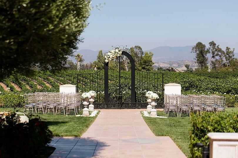 Vineyard Ceremony Location