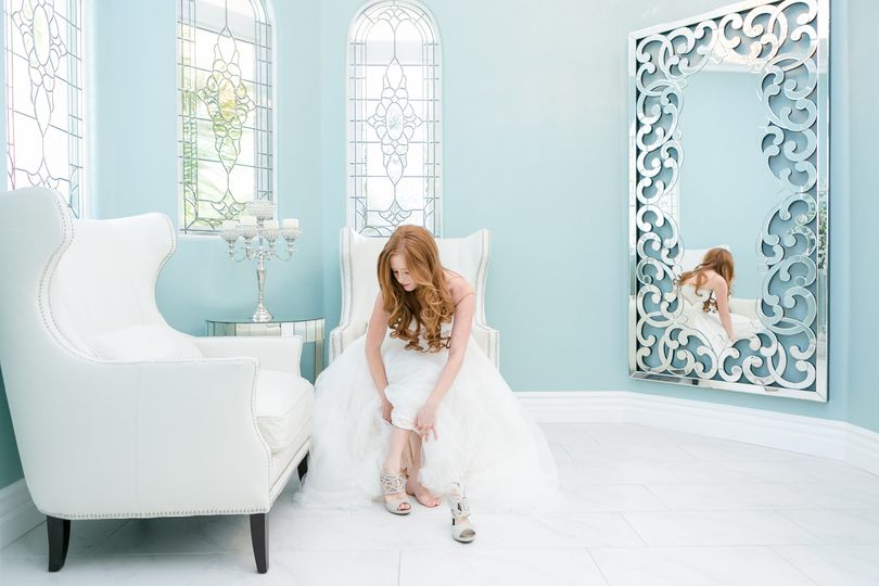 Bridal Suite at Villa de Amore