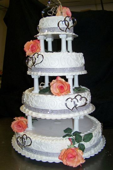 cheesecake wedding cakes and traditional cakes by mrs b wedding cake virginia beach va. Black Bedroom Furniture Sets. Home Design Ideas