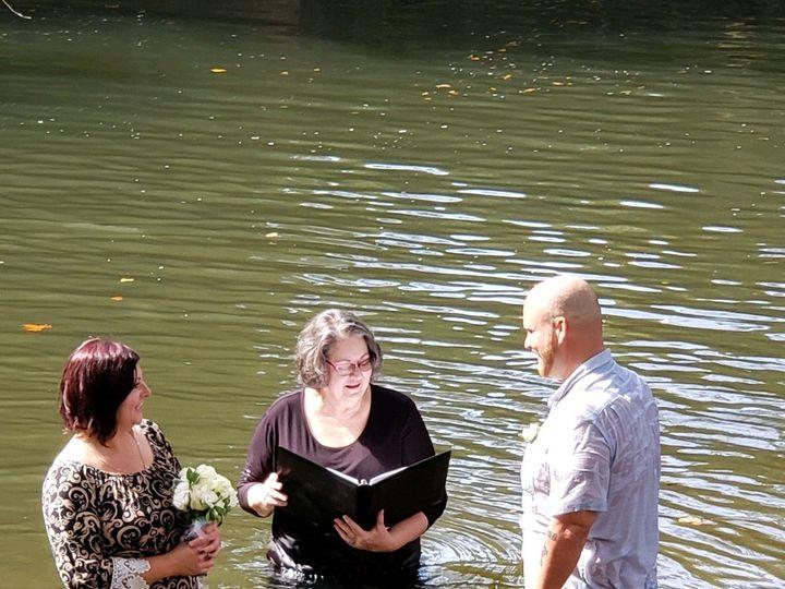 Tmx Daniel And Alicia River Ceremony 51 1059109 160841544365968 Athens, GA wedding officiant