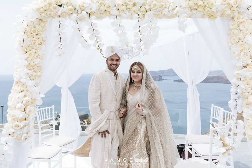 Chic Hindu Wedding