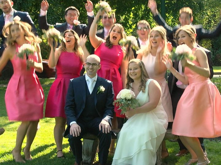Tmx 1515956244 A95854fee8919df8 1515956241 Dcbe9118318fafb0 1515956237268 3 Couple Seated Brid Clifton Park, NY wedding videography