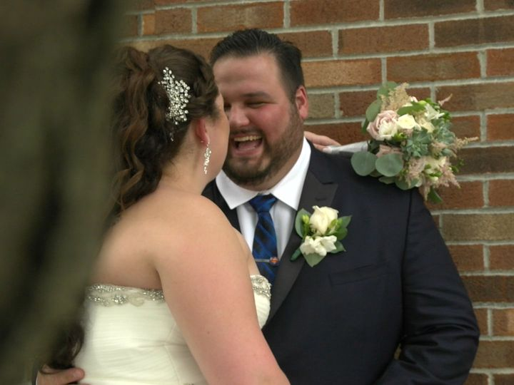 Tmx 1515957212 5903256ef4afd76d 1515957210 4f31753c74d357ab 1515957199498 8 Laughing Clifton Park, NY wedding videography