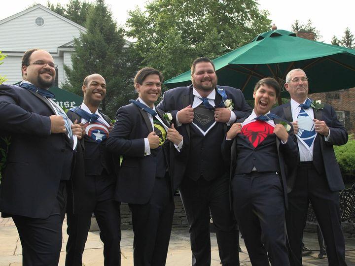 Tmx 1515957212 699f31d2f1e8982e 1515957210 B5adefc7ffb0dcbd 1515957199500 10 Superhero Shot Clifton Park, NY wedding videography
