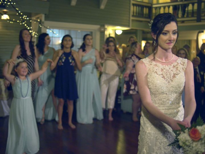 Tmx 1534885695 31f91fc3607b9e4b 1534885693 C8595cd8064bc225 1534885684065 2 Jen S Bouquet Toss Clifton Park, NY wedding videography