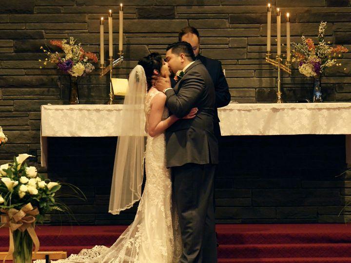 Tmx 1534885695 A3c405197df784aa 1534885693 Ae7ddf16d3a40549 1534885684068 5 Matt   Jen Kiss At Clifton Park, NY wedding videography