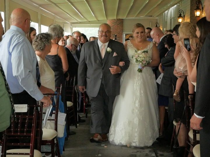 Tmx Bride Walking Down Isle 51 979109 V1 Clifton Park, NY wedding videography
