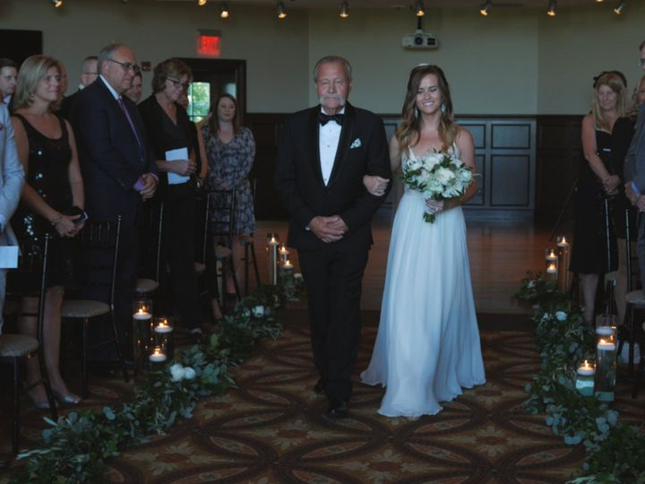 Tmx Lindsay Walking Down Isle 51 979109 Clifton Park, NY wedding videography
