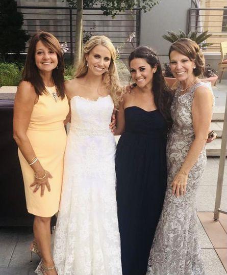 Gorgeous happy ladies