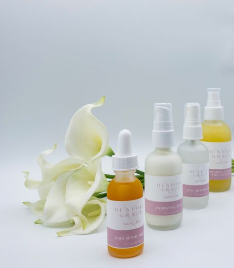 Line of skincare products