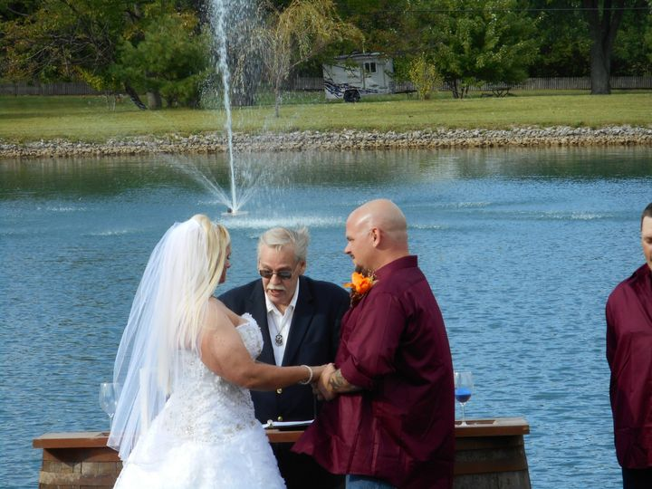 vows and fountain