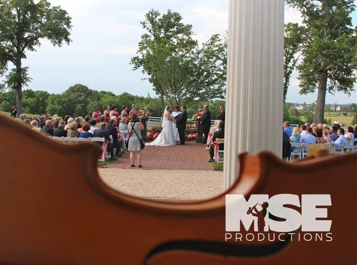 bride groom a violins view mse productions