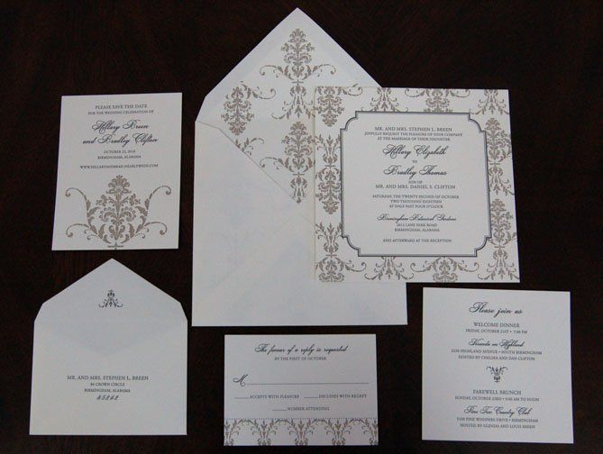 Tmx 1351814600306 VictoriaDetail Holt wedding invitation