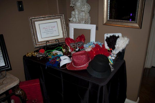 We have props galore and are always adding to our collection! - Keepsake Photo Booth Memphis, TN...