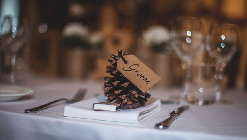 Table placements for winter