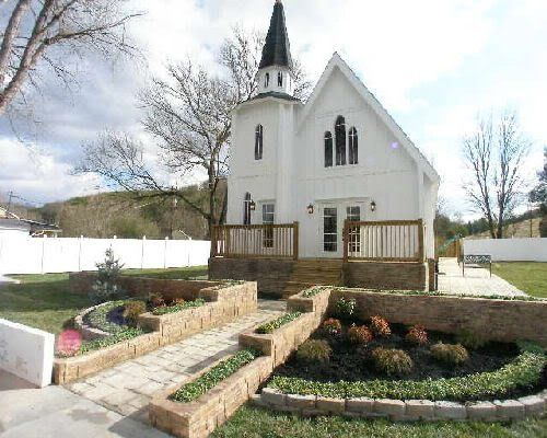 Pigeon Forge Gatlinburg Wedding Chapel Venue
