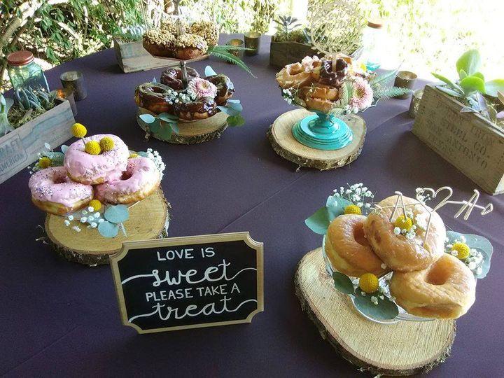 Dessert donuts