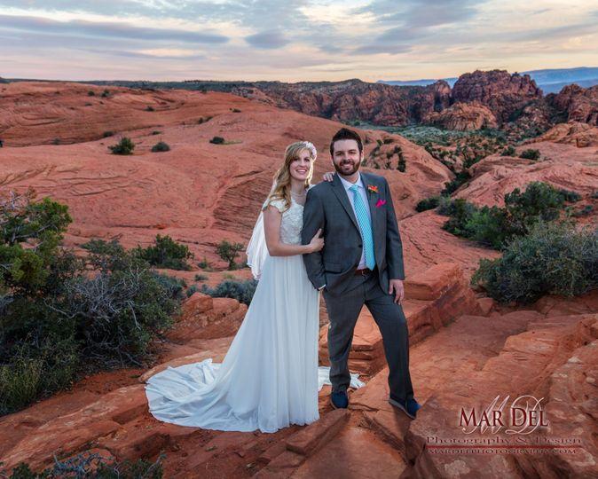 Southern Utah wedding