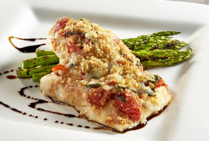 Seafood Plated Dinner