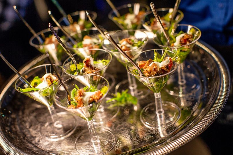 Martini appetizers