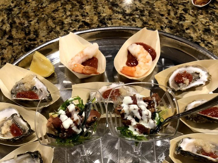 Tmx Seafood Appetizers Copy 51 1884209 157893932549485 Buzzards Bay, MA wedding catering