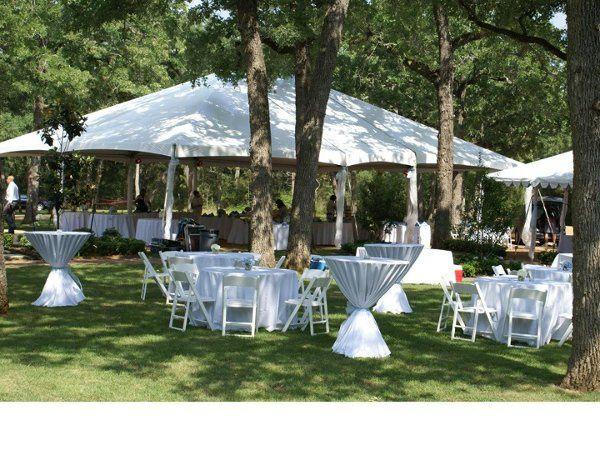 Outdoor Wedding in Smithville, Texas.